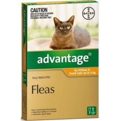 Advantage Cats under 4kg...