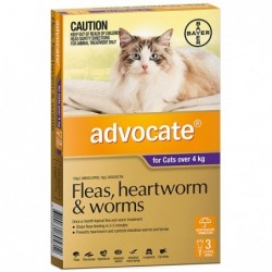 Advocate Cats over 4kg...