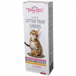 TT Litter Tray Liners Large...
