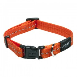 Rogz Collar S Nitelife Orange
