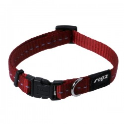 Rogz Collar S Nitelife Red