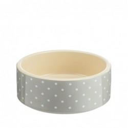 Petface Bowl Grey Spots 15cm