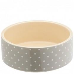 Petface Bowl Grey Spots 20cm