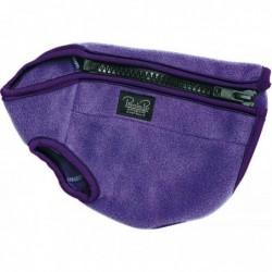 Prestige Cosy-Fleece Dog Vest 38cm Purple