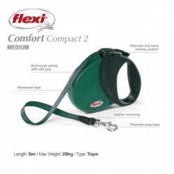 Flexi Comfort Compact 2m 5m Petrol Blue