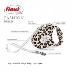 Flexi Fashion M Leopard