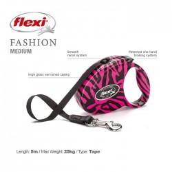 Flexi Fashion M Zebra Pink