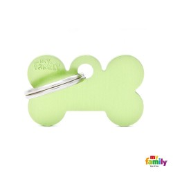 My Family Basic Bone S Lime Green