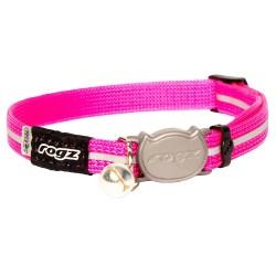 Rogz Alleycat Collar 11mm Pink