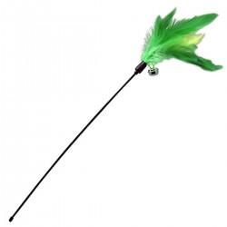 K9 Cat Teaser Stick Feather CT052