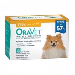Oravet Dogs up to 4.5kg Orange 322g