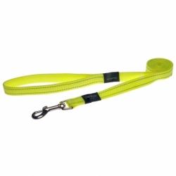 Rogz Lead L Fanbelt Dayglow Yellow