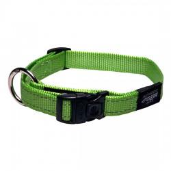 Rogz Collar M Snake Lime