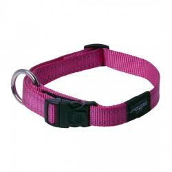 Rogz Collar M Snake Pink