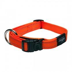 Rogz Collar M Snake Orange