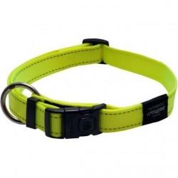 Rogz Collar L Fanbelt Dayglow Yellow
