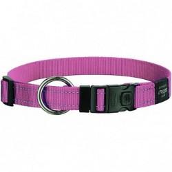 Rogz Collar XL Lumberjack Pink